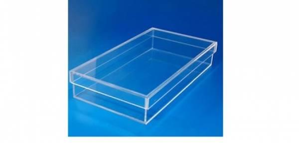 Caixa sob medida para mesa e piso pe as em acrilico bh for Piso acrilico transparente