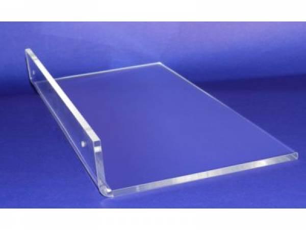 Prateleira prateleira em acr lico pe as em acrilico bh for Piso acrilico transparente