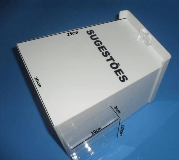 Urna em acrilico urnas para mesa e piso pe as em for Piso acrilico transparente