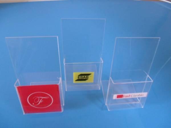 Porta folheto em acrilico personalizado display apoio for Piso acrilico transparente